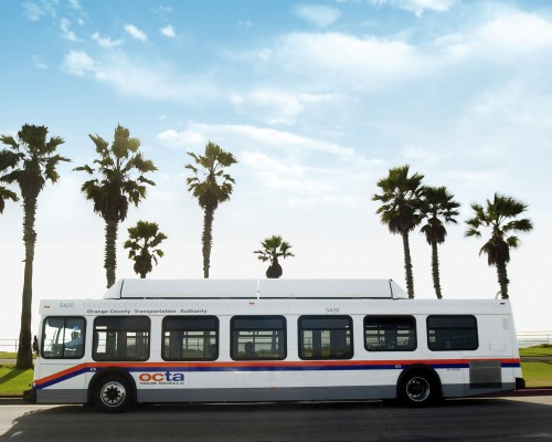 Orange County, CA: Bus transit