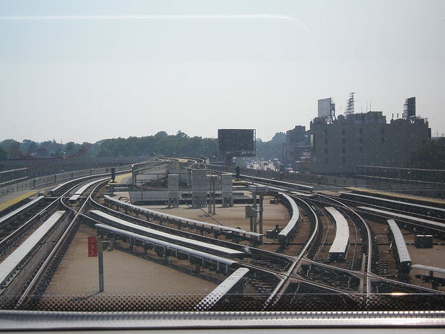 Leaving Jamaica Sutphin LIRR Station. By  Esoteric_Desi on Flickr