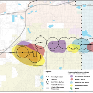 Connecting the West Corridor Communities: An Implementation Strategy for TOD along the Denver Region's West Corridor