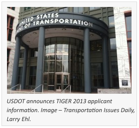 How do TIGER 2013 Applications Compare to Past TIGER Programs?