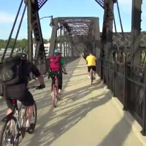 Pittsburgh's Hot Metal Bridge: Majestic Bike Infrastructure