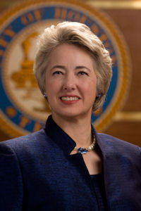 Annise D. Parker, Mayor of Houston