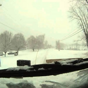 Greenbrier County, WV: Plowing US 219