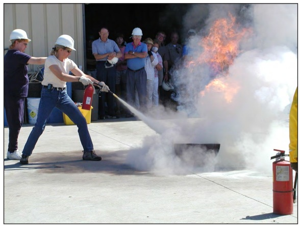Figure 1. Fire Extinguisher Use Drill