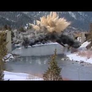 Jackson, WY: Snake River Bridge Demolition