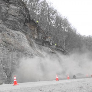 West Virginia DOT: Removing Rocks Using Inflatable Airbags