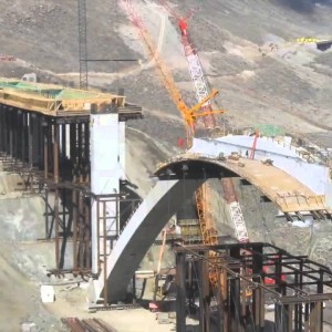 Washoe County, NV: Constructing I-580′s Galena Bridge