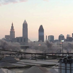 Cleveland, OH: Innerbelt Bridge Demolition