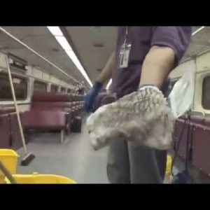 Boston, MA: MBTA Rail Cars Get the Deep-Clean Treatment