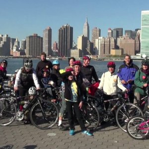 "Streetfilms – Kidical Mass NYC: ""Zombie Ride,"" Queens"