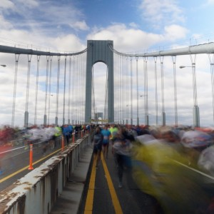 New York City: Verrazano-Narrows, the Marathon Bridge