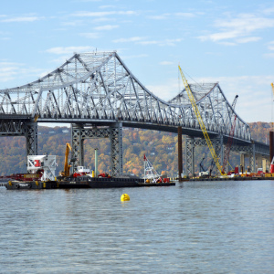 Tappan Zee Work Underway