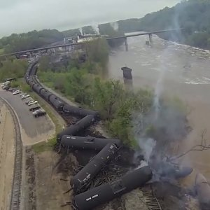 Boom: North America's Explosive Oil-By-Rail Problem