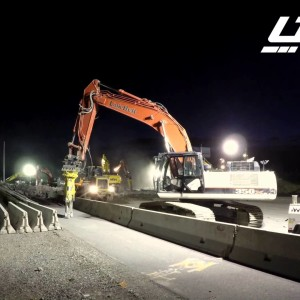 Bountiful, UT: 400 N Bridge Demolition in 45 Seconds