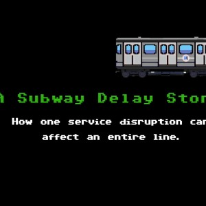 NYC: A Subway Delay Story (Told in 8-Bit Animation)
