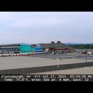 Plattsburgh, NY: Airport Construction Time Lapse
