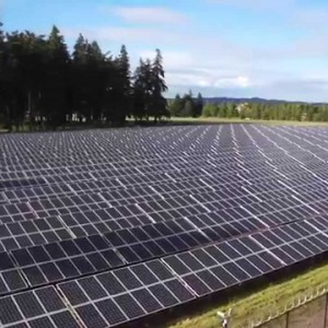 Wilsonville, OR: Aerial Inspection of the Baldock Solar Station