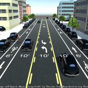 How to Build Bike Lanes Without Disrupting Traffic