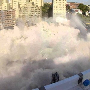 Jersey City, NJ: Housing Development Implosion (Video)