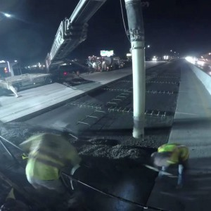 Nevada DOT: Paving I-580 Time Lapse