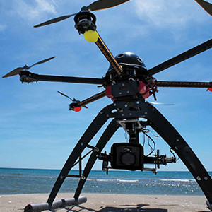 Drone - SAMI SARKIS/GETTY IMAGES