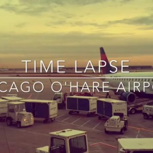 Chicago, IL: O'Hare Airport Time Lapse