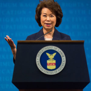 Elaine Chao, Secretary of Transportation