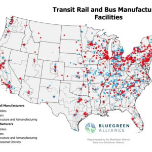 Transit Rail and Bus Manufacturing Facilities