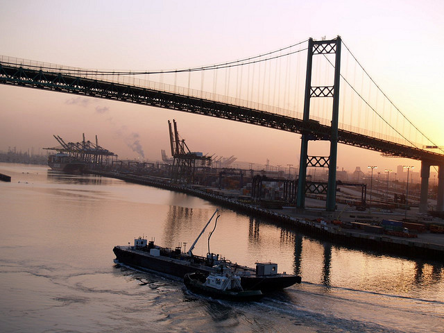 Port of Los Angeles sunrise - wirralwater on Flickr