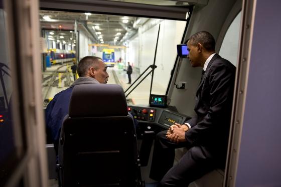 President Obama in St. Paul