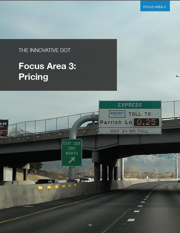 The Innovative DOT: Focus Area 3