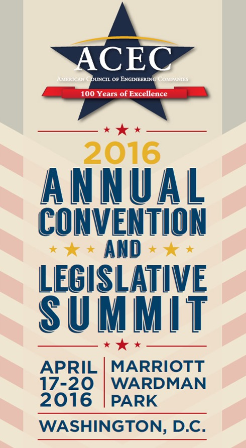 2016 ACEC Convention and Legislative Summit
