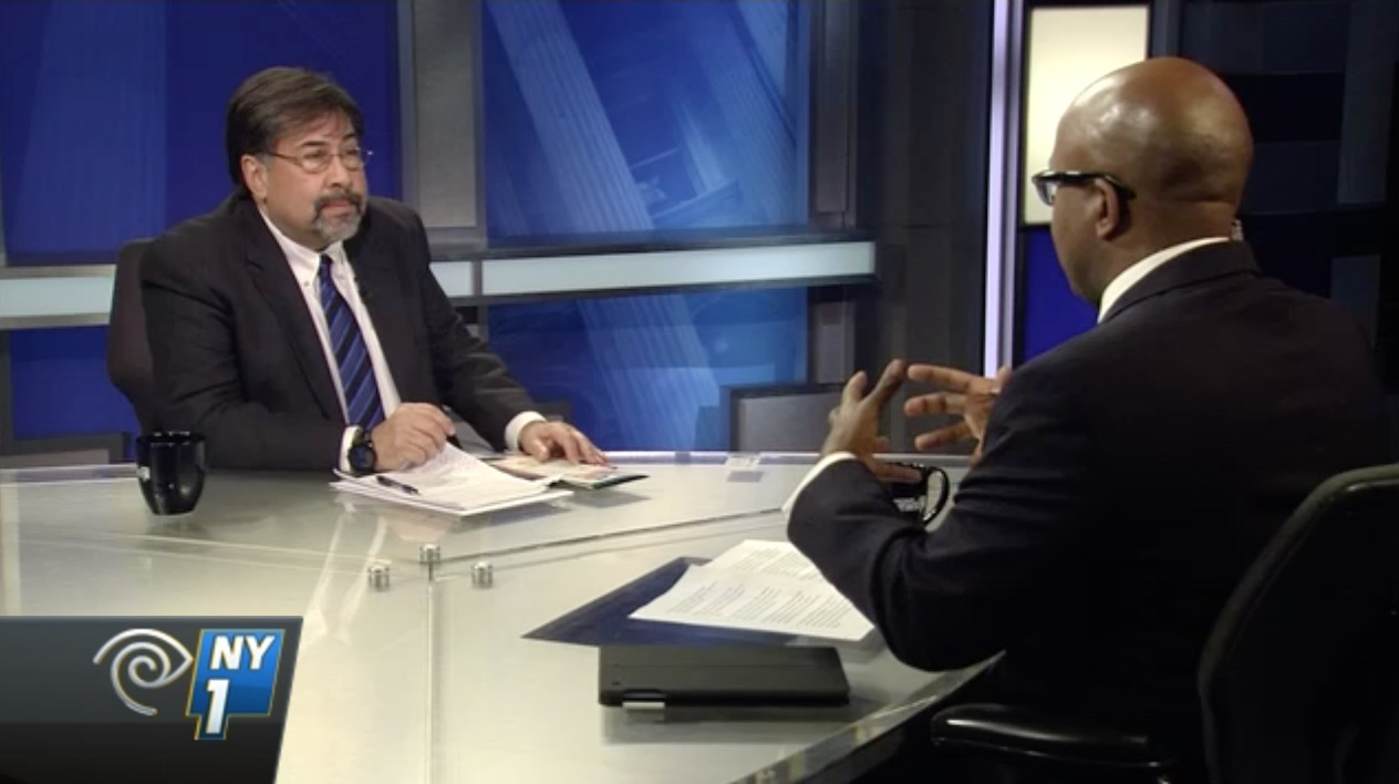 "Steve Anderson and Errol Louis on ""Inside City Hall"""