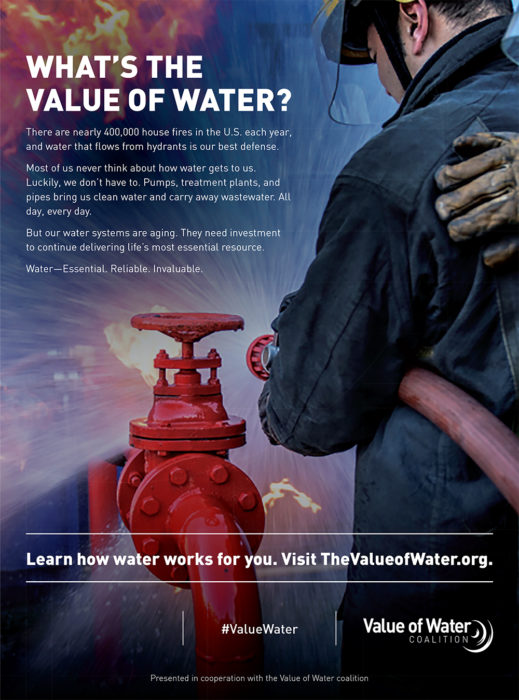 Value of Water - Firemen