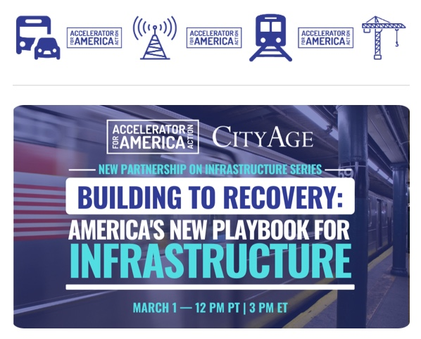 You're Invited! Building to Recovery: America's New Playbook for Infrastructure