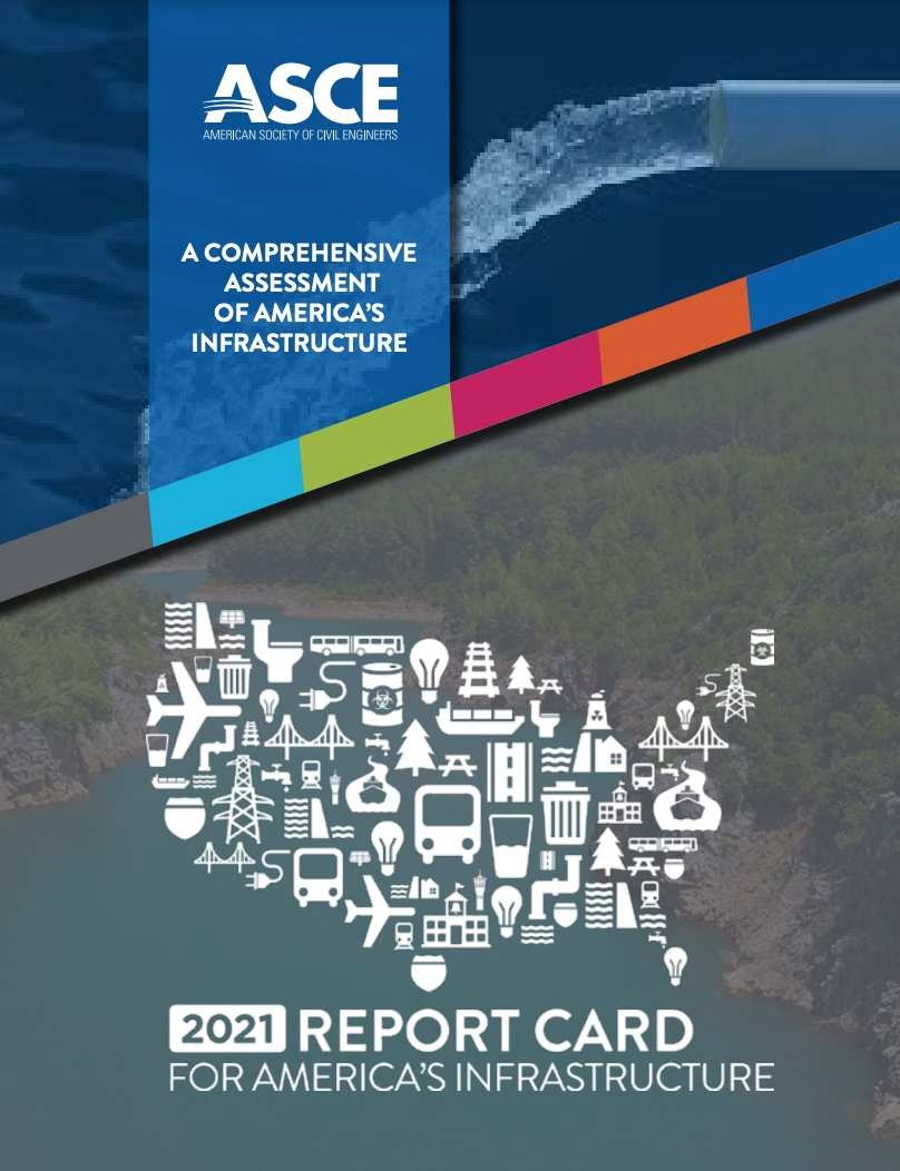 2021 Report Card for America's Infrastructure